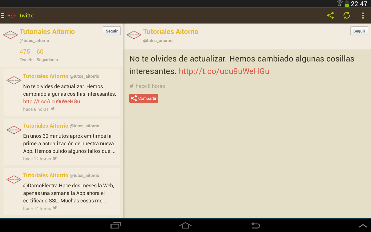 Tutoriales Aitorrio APP- screenshot