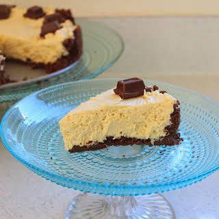 Peanut Butter and Chocolate Cheesecake.
