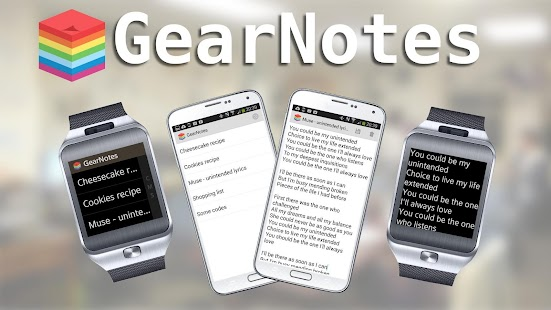 GearNotes for Samsung Gear 2