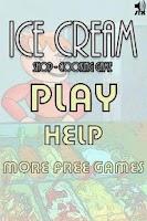 Screenshot of Ice cream shop cooking game