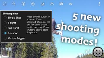 Screenshot of Fast Burst Camera Lite
