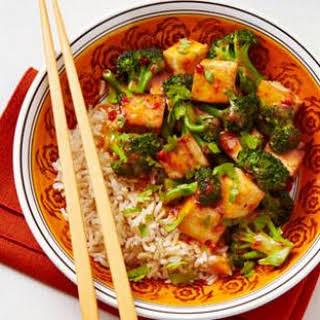 Chipotle-Orange Broccoli & Tofu.