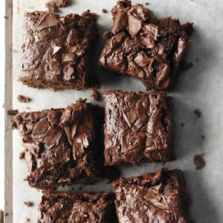Whole-Wheat Brownies.