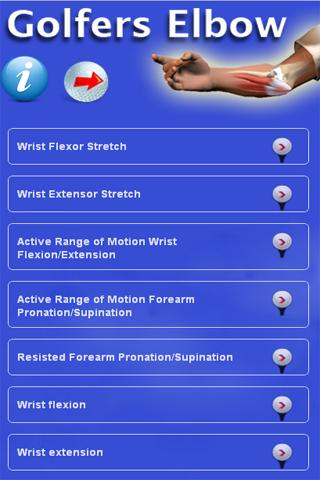 Golfers Elbow - screenshot