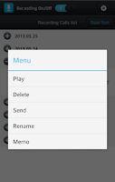 Screenshot of Smart Auto Call Recorder