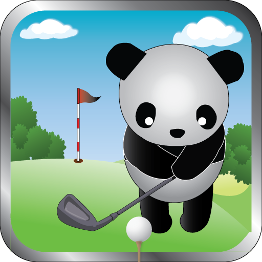Panda Golfer LOGO-APP點子