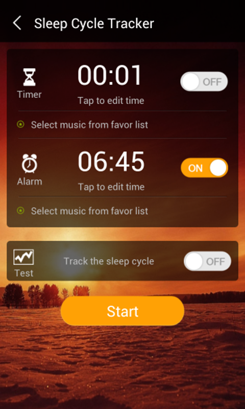 Relax Timer ( Sleep Cycle) - screenshot