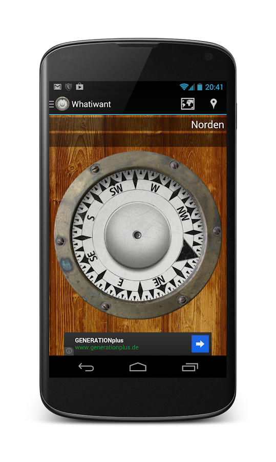 Whatiwant - compass- screenshot