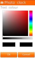 Screenshot of Photo Clock Wallpaper Lite