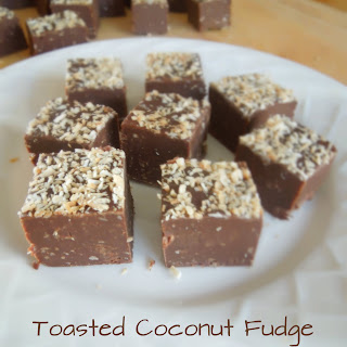 Toasted Coconut Fudge Recipe
