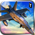 Jet Fighter Parking 3D icon