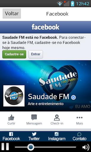 【免費音樂App】Saudade FM - Santos - 100,7-APP點子
