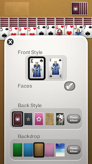 13 Spider Solitaire App screenshot