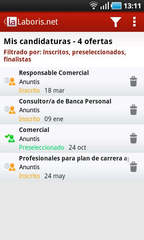 Laboris Jobs- screenshot