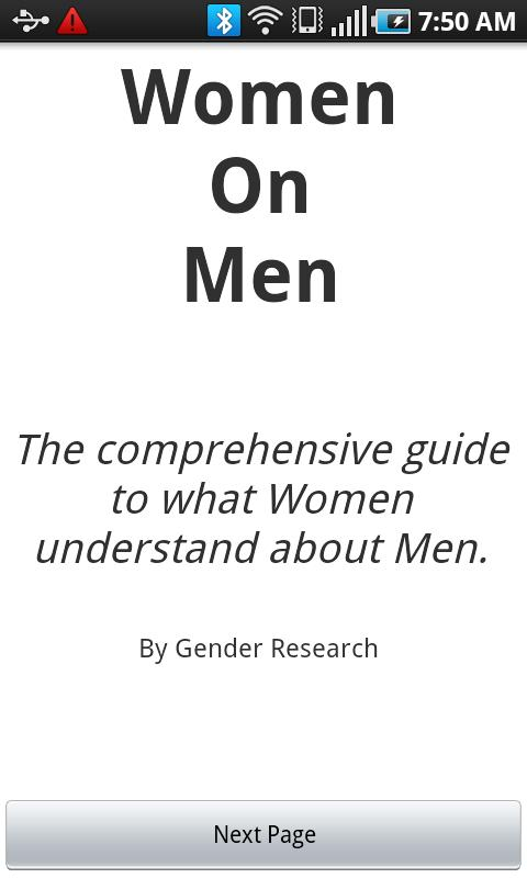 Women On Men - screenshot
