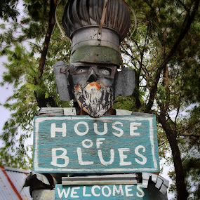 Junkie by Kimmarie Martinez - Artistic Objects Signs ( sign, hardware, house of blues, bovina, junk )