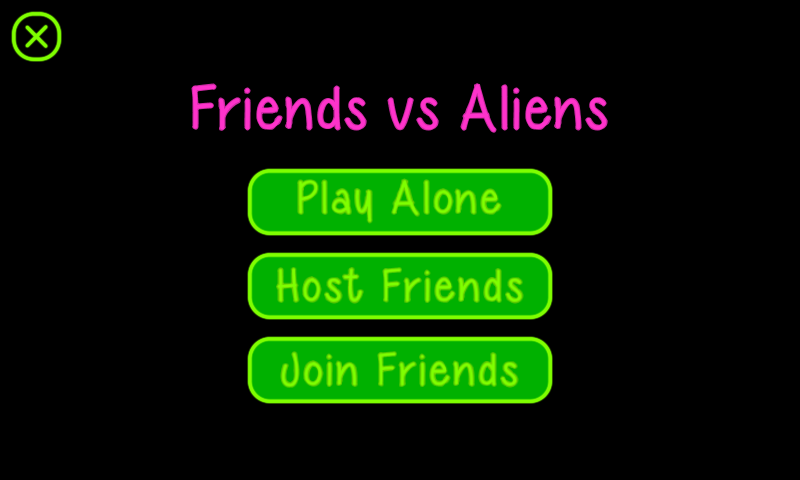 Friends vs Aliens - screenshot