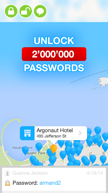 #4. WiFi Map — Free Passwords (Android)