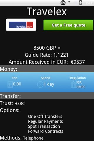 MyCurrency - Currency Exchange - screenshot