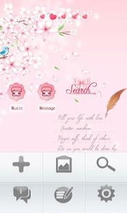 玩免費娛樂APP|下載CUKI Theme Cherry Blossoms app不用錢|硬是要APP