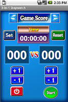 Screenshot of 3-in-1 Stopwatch