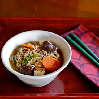 Japanese Beef and Vegetable Hot Pot (Sukiyaki)