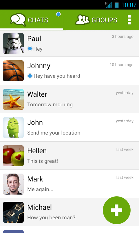 Piip Messenger- screenshot