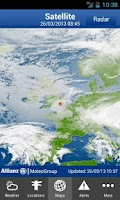 Screenshot of Allianz WeatherSafe