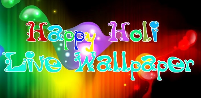 Holi Live Wallpaper HD