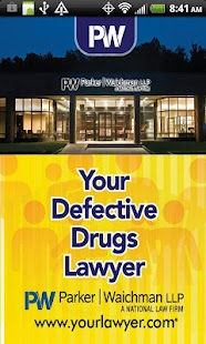 Your Defective Drug Lawyer- screenshot thumbnail
