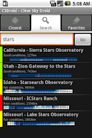 Screenshot of Clear Sky Droid (donate)