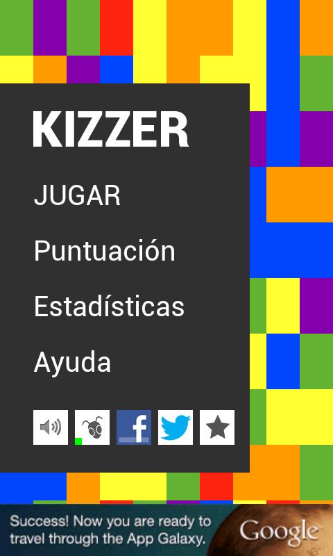 Kizzer (Juego Trivial) - screenshot