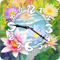 Sacred Flower Clock Widget