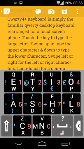 Qwerty4+ Keyboard