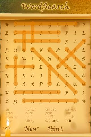 WordSearch Unlimited - screenshot