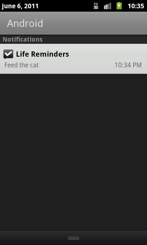 Life Reminders (Donate) - screenshot