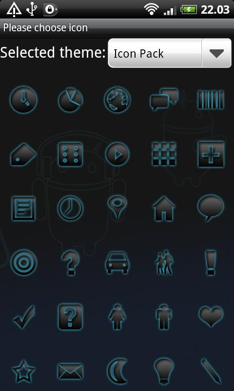 Icon Pack GO Launcher EX - screenshot