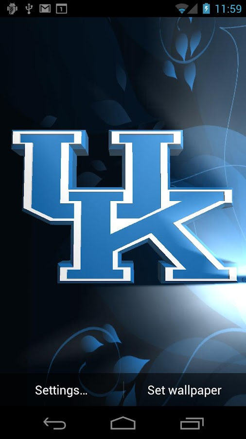 Kentucky Wildcats LWPs & Tone - screenshot