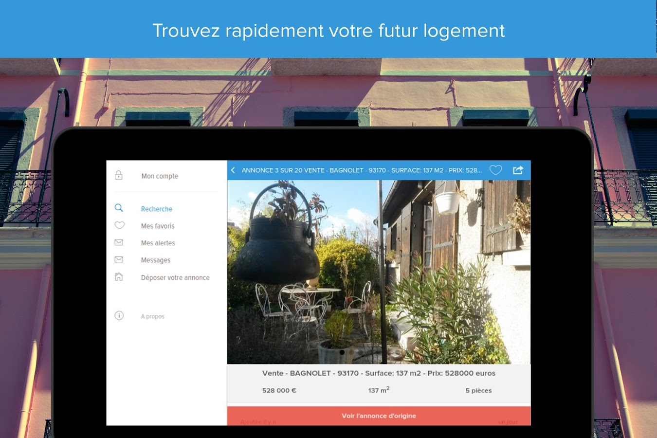 Home'n'go - Immobilier- screenshot