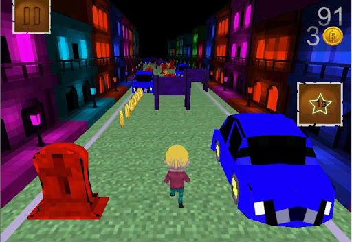 Treasure city 3D Runner