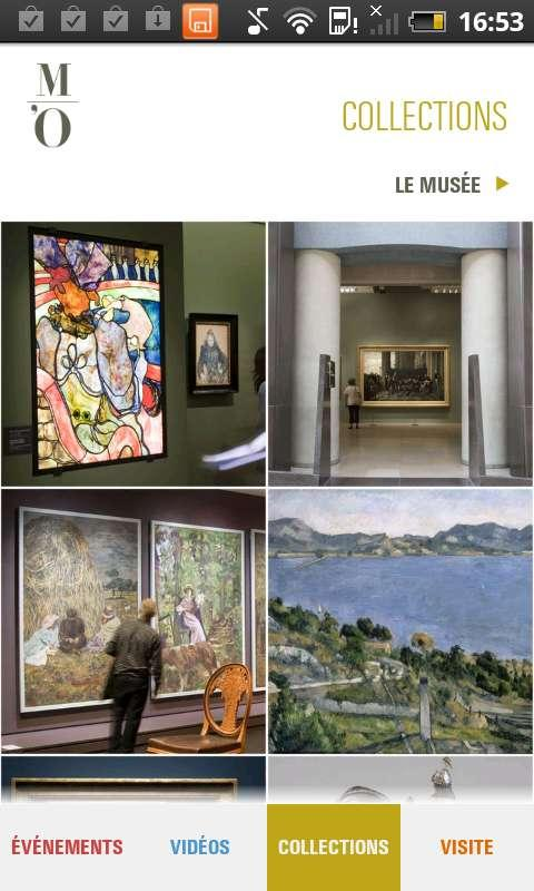 Museo de Orsay - screenshot