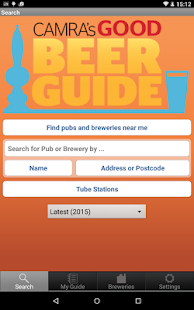 CAMRA Good Beer Guide - screenshot thumbnail