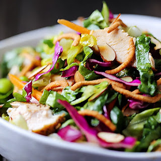 Lighter Chinese Chicken Salad.