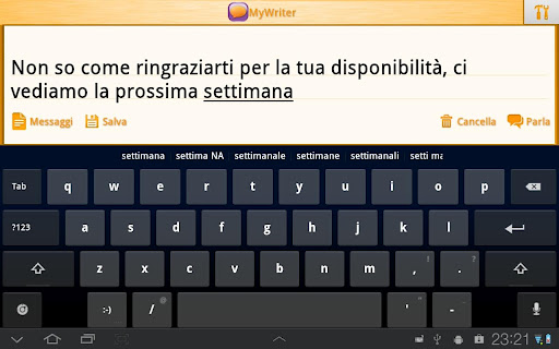 MyWriter