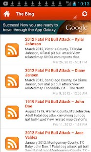 US Fatal Pit Bull Attacks - screenshot thumbnail