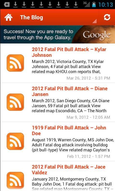 US Fatal Pit Bull Attacks - screenshot