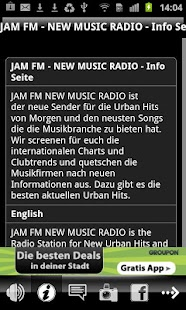 JAM FM New Music Radio - screenshot thumbnail