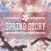Spring story Atom Theme