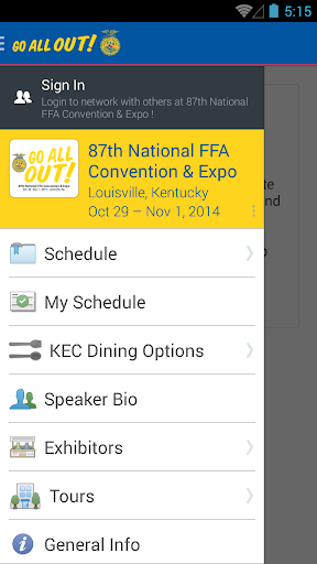 National FFA Convention Expo