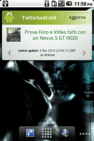 TuttoAndroid News - screenshot